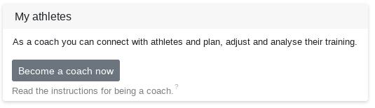 Als Trainer freischalten