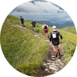 Form und Fitness beim Ultramarathon in Norwegen